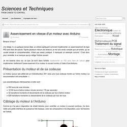 Asservissement en vitesse d'un moteur avec Arduino » Sciences et Techniques