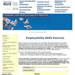 How to assess your employability skills