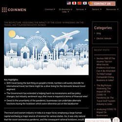 The Big Picture: Assessing The Impact Of The COVID-19 Pandemic On The Travel And Tourism Industry In India - Coinmen Consultants