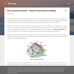 Basix Assessment Australia – Getting The Best Rating For Buildings