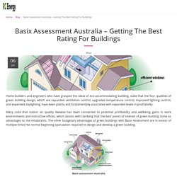 Basix Assessment Australia – Getting The Best Rating For Buildings - RC Energy