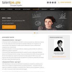 Assessment centers - Talent People