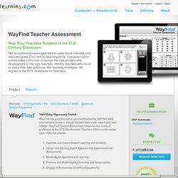 WayFind Teacher Assessment for Effective 21st Century Teachers