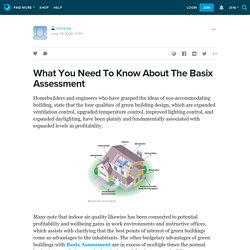 What You Need To Know About The Basix Assessment : rcenergy — LiveJournal