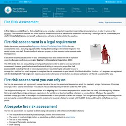 Fire Risk Assessment Cheshire, Liverpool & Wirral