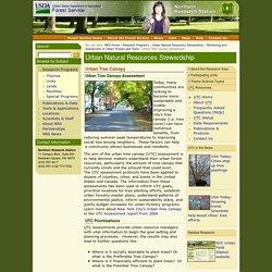 USFS: Urban Tree Canopy Assessment