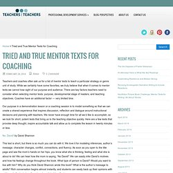 Tried and True Mentor Texts for Coaching
