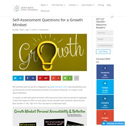 Self-Assessment Questions for a Growth Mindset