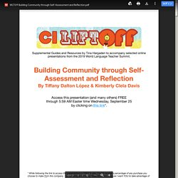 WLTS19 Building Community through Self-Assessment and Reflection.pdf