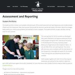 Assessment & Reporting — Eltham North Primary School