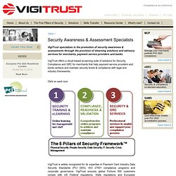 Security Awareness & Assessment Specialists - VigiTrust: Compliance as a Service