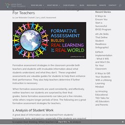 5 Great Formative Assessment Strategies For Teachers