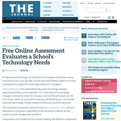 Free Online Assessment Evaluates a School's Technology Needs