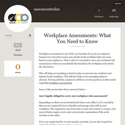 Workplace Assessments: What You Need to Know - assesscontrolnz