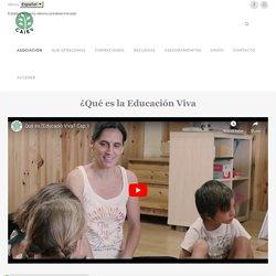Qué es Educación viva - Centre d'Assessorament i Investigació d'Educació Viva (CAIEV)