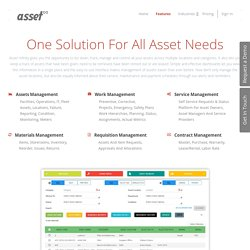 Asset Infinity-One Solution For All Asset Needs.