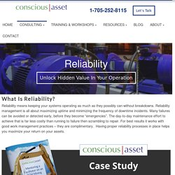 Asset Reliability