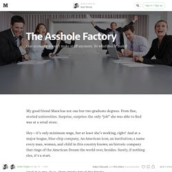 The Asshole Factory — Bad Words