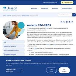 Assiette CSG-CRDS