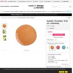Assiette & klevering - Orange