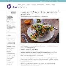 L'assiette végétale au fil des saisons : Le printemps - Croc' La Vie