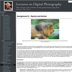 assign2-sports-and-action - Digital Photography