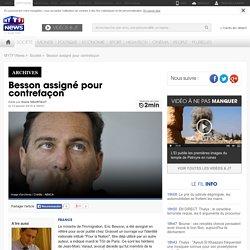 Besson assigné pour contrefaçon - Fil news