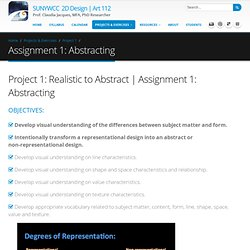 Assignment 1: Abstracting