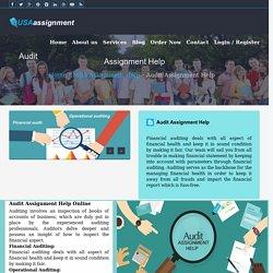 Audit Assignment Help