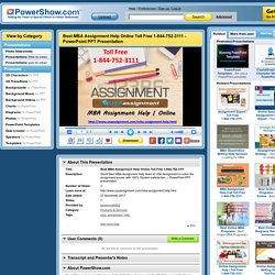 Review MBA Assignment Help Call Now 1-844-752-3111