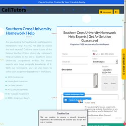Top Assignment Help for Southern Cross University [SCU]
