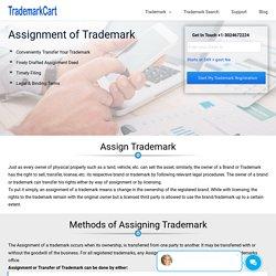 Assignment of Trademark Online