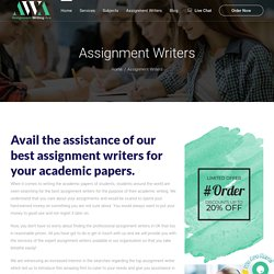 Assignment Writers UK, Cheap Online Assignment Writers