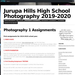Jurupa Hills High School Photography and Yearbook
