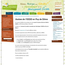 Assises de l'EEDD en Puy de Dôme