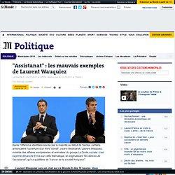 """""""Assistanat"""" : les mauvais exemples de Laurent Wauquiez"""