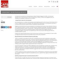 L'assistanat : un secteur qui recrute - Cap & Cime PR, relations médias, relations publics, agence de relations presse