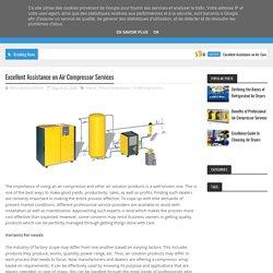 Excellent Assistance on Air Compressor Services