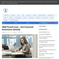4000 Pound Loan - Get Financial Assistance Quickly - Clinkcareer