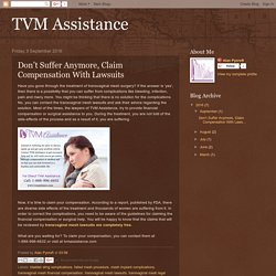 TVM Assistance: Don't Suffer Anymore, Claim Compensation With Lawsuits