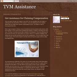 TVM Assistance: Get Assistance for Claiming Compensation