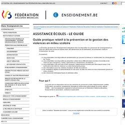 Assistance Écoles - Le guide