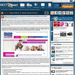 Fin de la TVA à taux réduit pour l'assistance informatique au 1er avril 2013