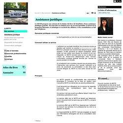 Assistance juridique - Nos services