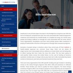 Bills Assistance – Medical Bill Assistance Grants