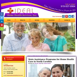 State Assistance Programs for Home Health Care in North Carolina