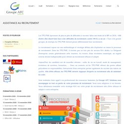 Assistance au Recrutement – Groupe AFC Solutions