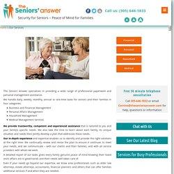 Senior Assistance Services Miami
