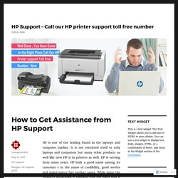 How to Get Assistance from HP Support