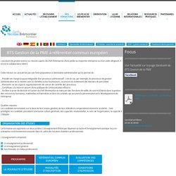 BTS Assistant de gestion PME-PMI bordeaux - lycée brémontier bordeaux